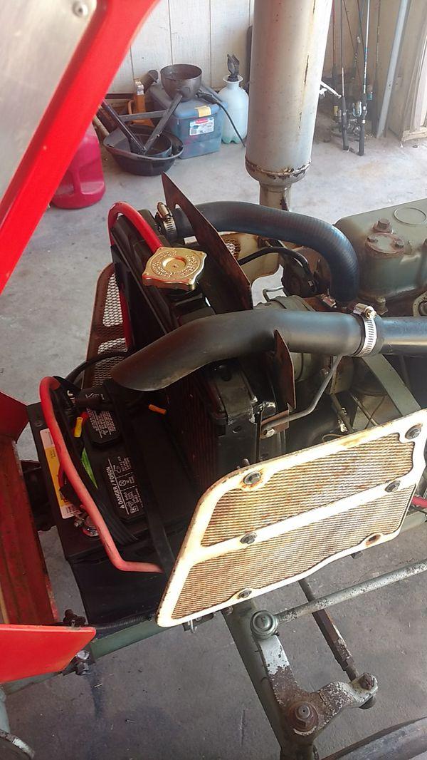 Tractor, Yanmar 1500