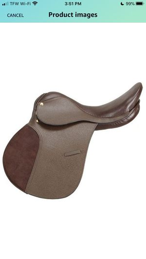 """Brand New SilverFox All Purpose Horse Saddle 19"""" for Sale in Tulare, CA"""