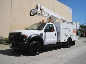 2009 Ford F550 F-550 43' Bucket Truck Basket Truck Boom Lift Utility F450 for Sale in Long Beach, CA