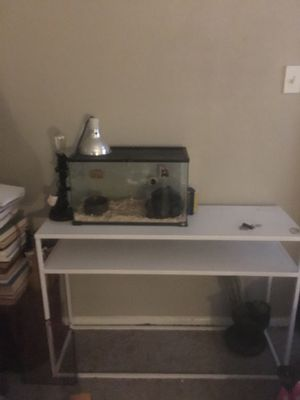 Metal console table/desk for Sale in Austin, TX