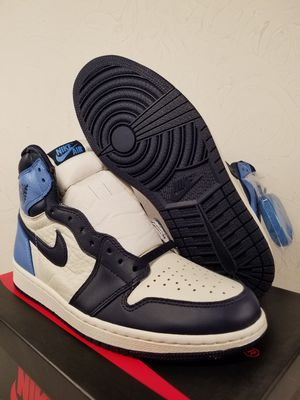 Air Jordan 1 Retro High Og Obsidian UNC Men's Size 8.5 for Sale in Hialeah, FL