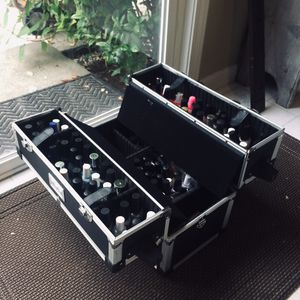 HUGE NAIL POLISH / OPI Travel Train Case / Nail Care Lot for Sale in Edmonds, WA