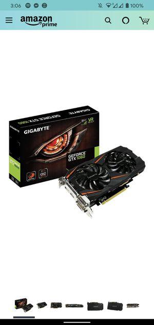 Nvidia GTX 1060 - 6GB VR compatible (Gigabyte) for Sale in Pasadena, CA