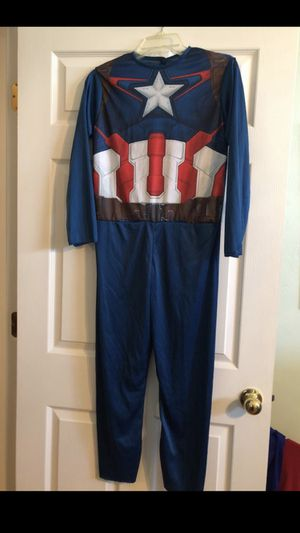 Boys Large Captain America Costume for Sale in Cape Coral, FL