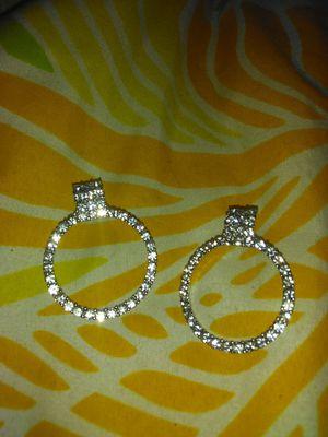 Diamond earrings for Sale in Florissant, MO