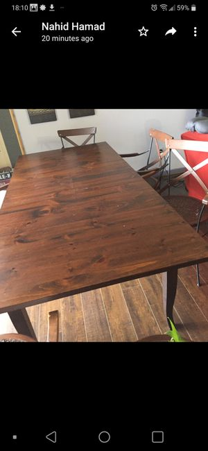 Pier one dining table for Sale in Falls Church, VA