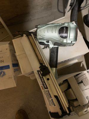 Hitachii nail gun for Sale in Whitman, MA