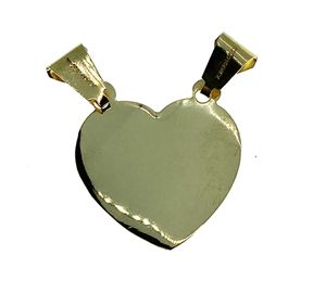 14kt gold heart charm pendant for Sale in Los Angeles, CA
