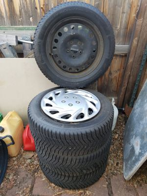 Continental Winter Contact Tires and Wheels for Sale in Denver, CO