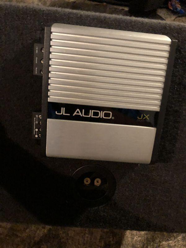 """JL Audio 12"""" Sub With Amp"""