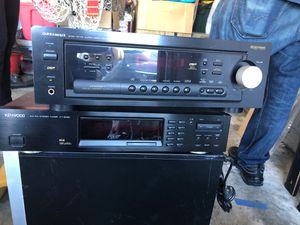 Audio video receiver and compact disc changer and FM stereo receiver for Sale in Richmond, CA