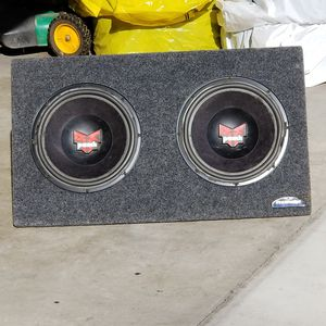 Rockford Fosgate Punch 12s in a JL Audio Pro Wedge Box for Sale in Nampa, ID