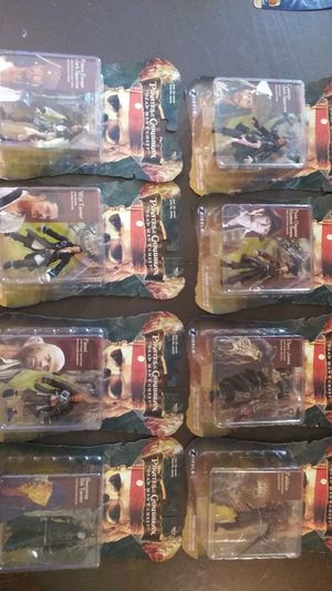 Pirates of the Caribbean dead man's chest figures for Sale in Marysville, WA