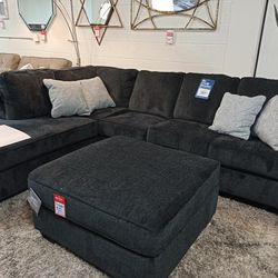 NEW, U SHAPPED SECTIONAL, LAF Corner Chaise, SLATE COLOR. for Sale in Santa Ana,  CA