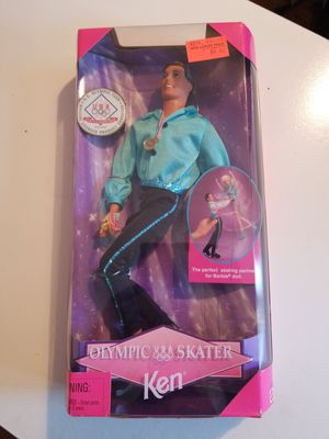 Barbie 18502 Olympic Skater Ken Doll NIB 1997 for Sale in Westport, MA
