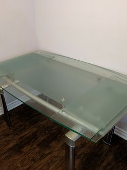 Glass Dining Table (Move Out Sale) for Sale in Torrance,  CA