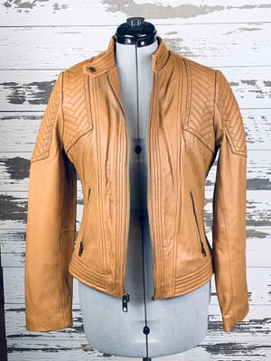 100% Authentic New Michael Kors Real Leather Jacket for Sale in San Jose, CA