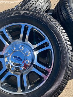 """Ford 20"""" wheels and tires 8 Lugs for Sale in Colorado Springs,  CO"""