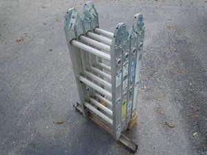 Werner 300lb aluminum 12ft, 6ft ladder stepladder for Sale in Burnsville, MN