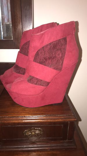 Red heels size 9.5 for Sale in Four Oaks, NC