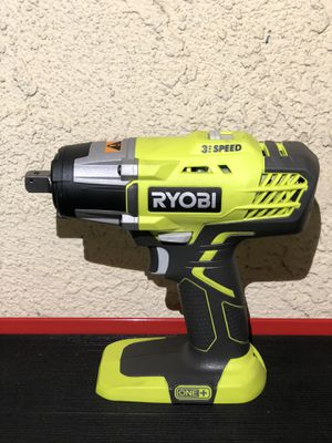 RYOBI 18-Volt ONE+ Cordless 3-Speed 1/2 in. Impact Wrench (Tool-Only) - New Open Box for Sale in Riverside, CA