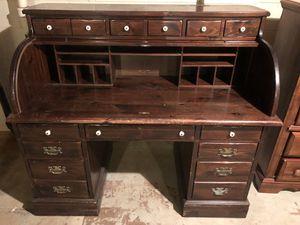 Antique Victorian Roll-top Oak Desk for Sale in Kennesaw, GA
