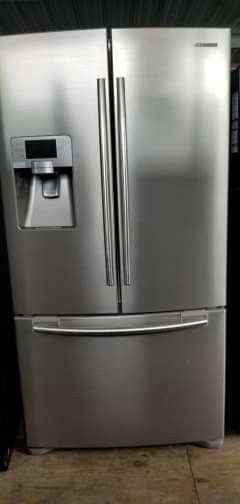 REFRIGERATOR STAINLESS STEEL 3 door Refrigerador for Sale in Houston, TX