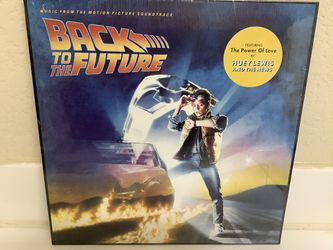 BACK TO THE FUTURE Record - Huey Lewis & The News - 80's Movie Soundtrack Vinyl - New! for Sale in Las Vegas, NV