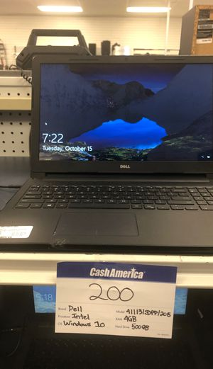 Dell Laptop for Sale in Houston, TX
