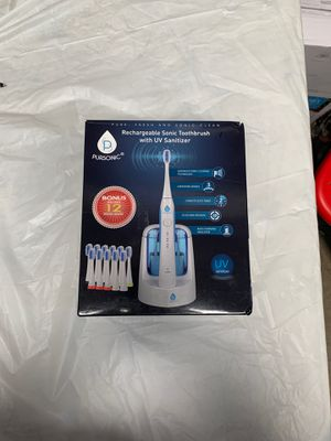 Pursonic Rechargeable Sonic Toothbrush w/ UV Santizer for Sale in Industry, CA