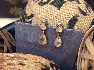 Rainbow Moonstone Earrings, 14K YG over Sterling Silver for Sale in Farmington Hills, MI