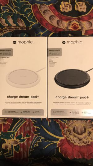 mophie Wireless charging pads (black or white) for Sale in Austin, TX