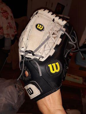 Wilson baseball glove and catchers helmet/mask for Sale in Houston, TX