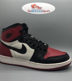 "Air Jordan 1 ""Bred Toe"" Size 7 for Sale in Apex,  NC"