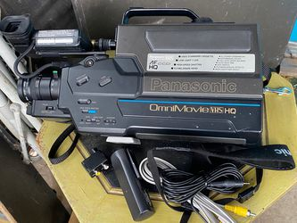 Panasonic Omni Movie Old VHS Camcorder for Sale in San Angelo,  TX