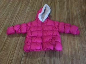 pink snow jacket ( 18- 24M) for Sale in Damascus, MD