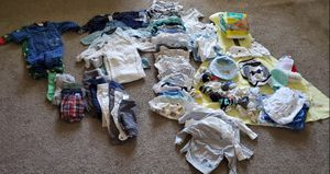 Baby Boy Clothes (Newborn to 6mos) for Sale in Chandler, AZ