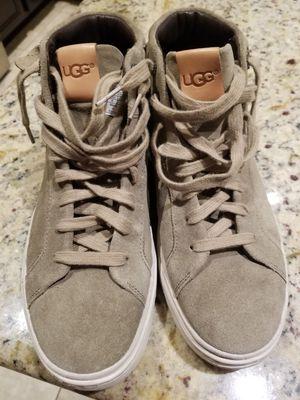 Ugg suede shoes sz Mens 8 womens 10 new for Sale in Litchfield Park, AZ