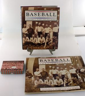 Ken Burns Illustrated History, 1995 Baseball Calendar, and Card Set for Sale in Bakersfield, CA