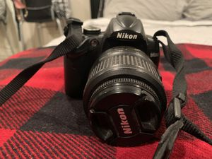 Nikon D5000 w 18-55 and 55-200 mm lenses for Sale in West Hollywood, CA