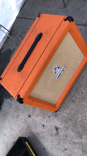 Orange Amplification for Sale in Los Angeles, CA