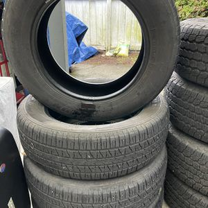 4 Terramax Tires 235/65R18 80% Life Left Pick Up Only for Sale in Issaquah, WA