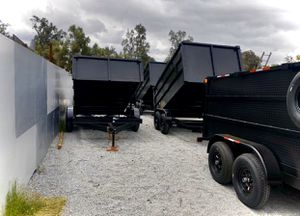 2019 For Sale Dump Trailer. 8x12x4 for Sale in Modesto, CA