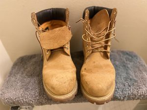 Timberland work boots for Sale in Lochearn, MD