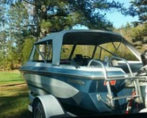 16 Ft 1986 Glastron Boat for Sale in Menlo, GA