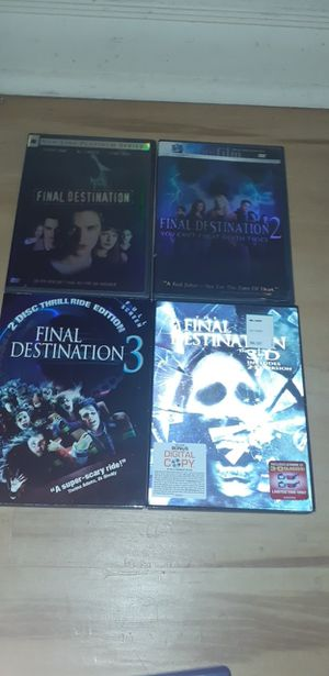 Final destination includes 3d version for Sale in Groesbeck, OH