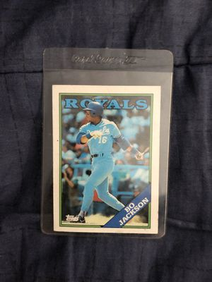 Bo Jackson vintage topps collectible card for Sale in Culver City, CA