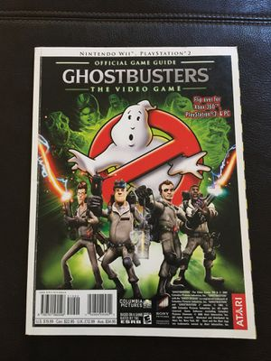 Ghostbusters Official Game Guide - PS2,PS3, Xbox, Nintendo for Sale in Glendale, AZ