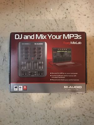 M-Audio Torq Mixlab - New In Box for Sale in Fountain Valley, CA