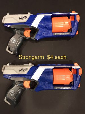 Nerf gun bundle or individual sale. Small and Large. All work great. for Sale in Salt Lake City, UT